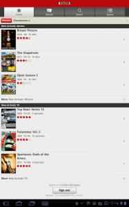 Netflix An Android App