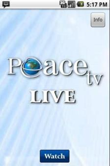 Peace TV Live HD Free Android App