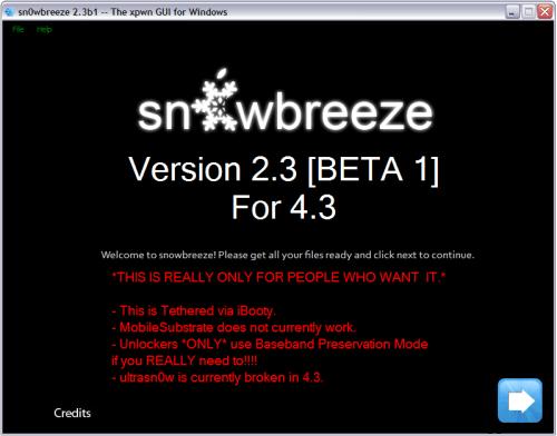 Sn0wbreeze-2.3b1