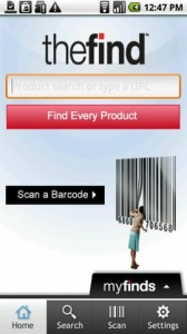 TheFind Shopping Companion Android App