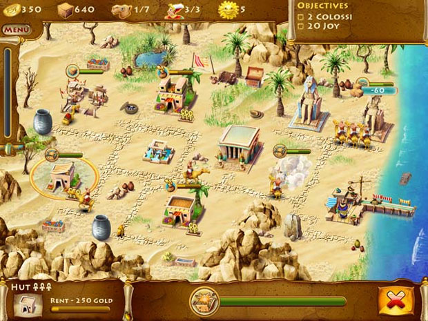 Time builders Pyramid Rising Is Among 5 fun games for mac
