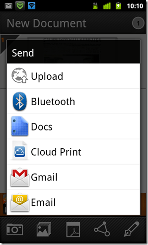 Scan Multiple Images And Convert To PDF With Cam Scanner For Android