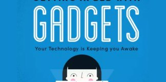 getting in bed with gadgets