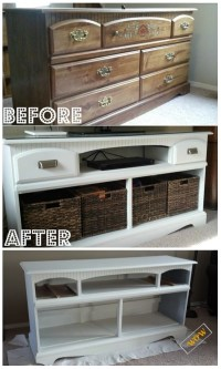 Awesome Old Dresser Makeover Ideas With DIY Tutorials