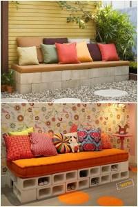 DIY Cinder Block Home & Garden Decoration Ideas