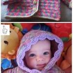 Crochet Kids Sweater Outwear Patterns
