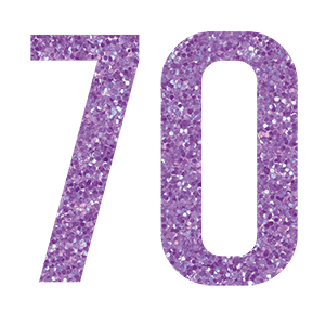 70th Birthday WowVow