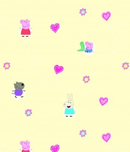 Cute Pink Pig Wallpaper Kids Wallpaper Create A Bedroom Wonderland For Your Child