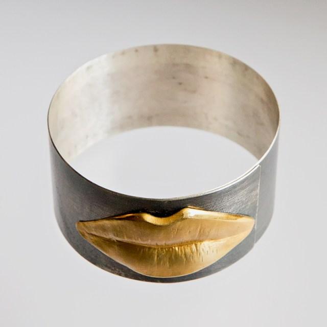 Srebrna bransoleta Złote Usta