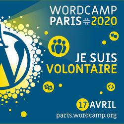 Bénévole WordCamp Paris