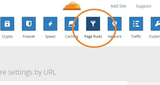cloudflare-page-rules