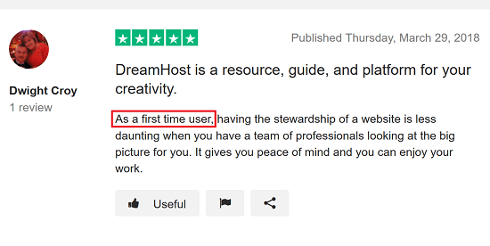 DreamHost Review 1 - Great for First Timers