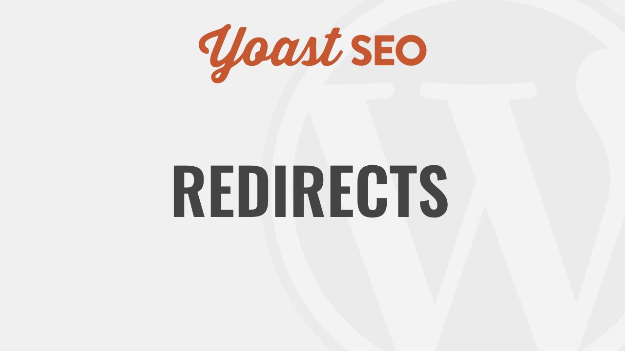 Yoast SEO Redirect Manager