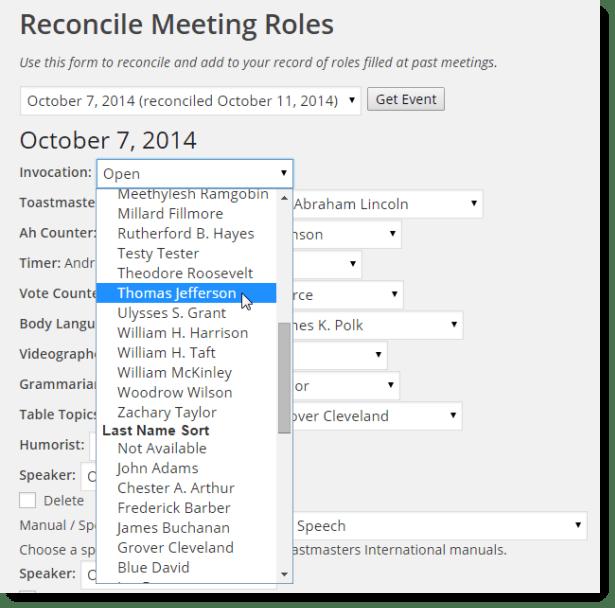 Reconcile Records