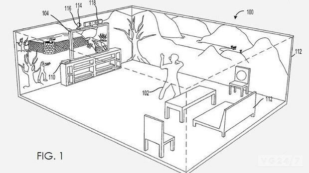 Xbox 720/ Kinect V2: Microsoft Patents Projector Tech to