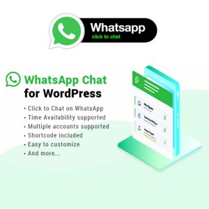 WhatsApp Chat WordPress By NinjaTeam