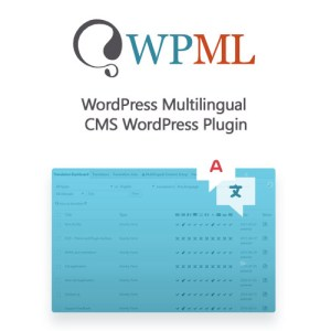 WPML Multilingual CMS WordPress Plugin – Core Plugin