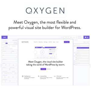 Oxygen – The Ultimate Visual Site Builder for WordPress – Plugin