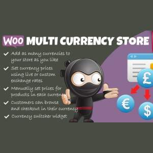 Woocommerce Multi Currency Store Pro