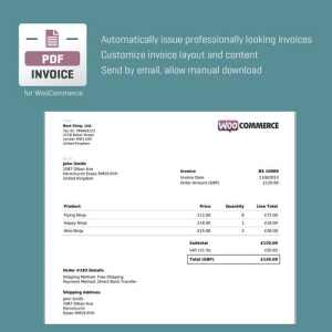 WooCommerce PDF Invoice by RightPress