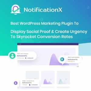 NotificationX Pro  –  Best Social Proof & FOMO Marketing Solution
