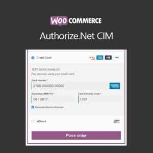 WooCommerce Authorize.Net CIM