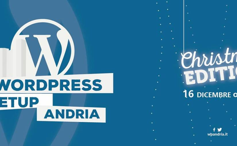 4° WordPress Meetup Andria – Christmas Edition