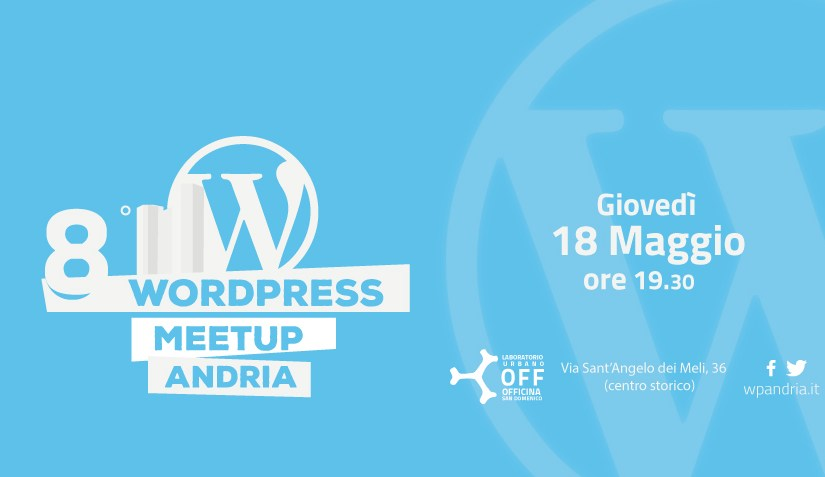 8° WordPress Meetup Andria: creare e gestire una strategia SEO nel 2017
