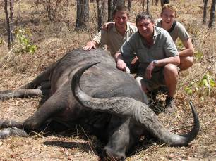 47' inch Buffalo hunted in Chifunda 2010