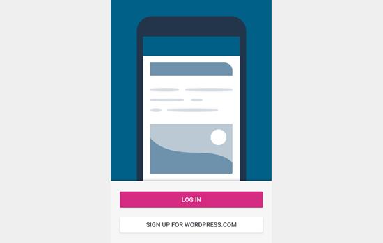 Login to your WordPress.com account