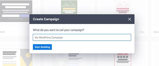 Choose campaign name