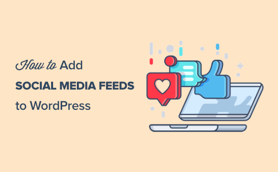 How to add your social media feeds to WordPress