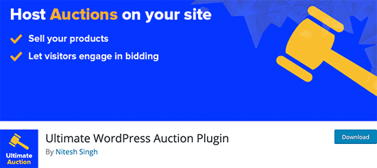 Ultimate Auctions for WordPress