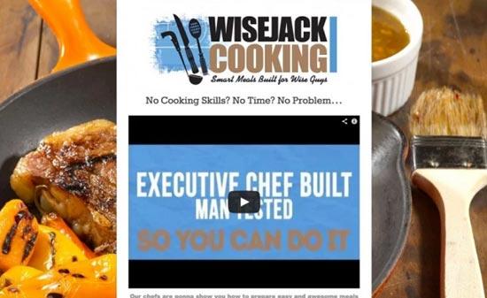 WiseJack Cooking