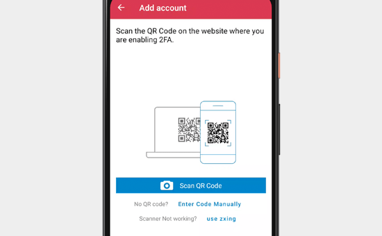 Scan QR code with your phone