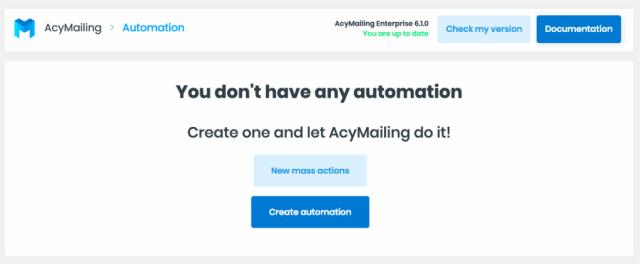 AcyMailing marketing automation tool