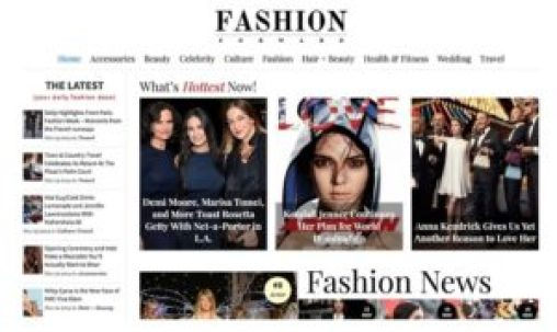 Tema Fashion Forward WordPress
