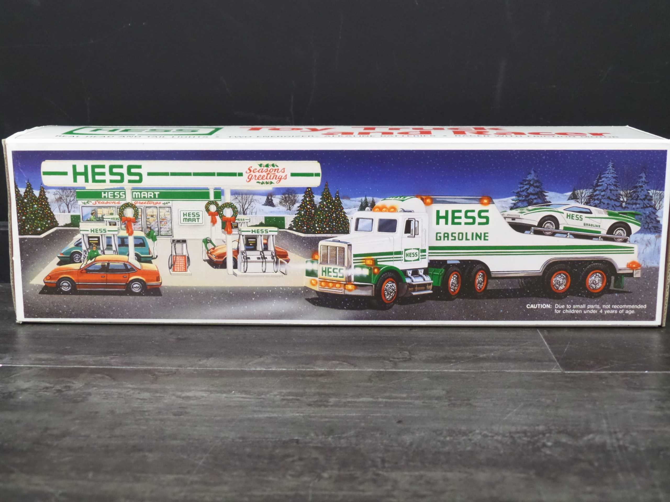 1991 HESS TRUCK AND RACER <br/> Donated by:  WPBS SUPPORTER <br/> Buy It Now: $44