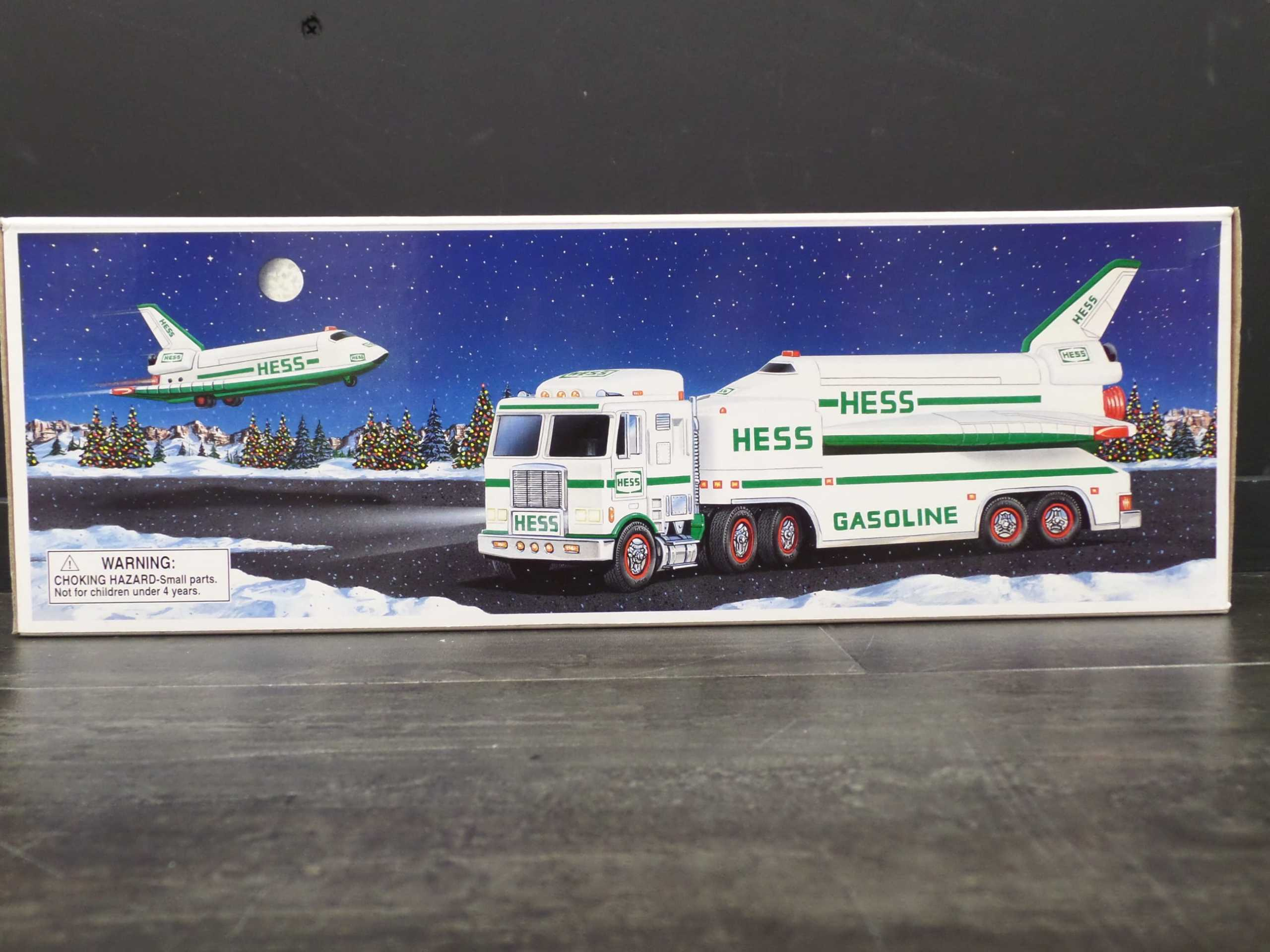 1999 HESS TRUCK WITH SPACE SHUTTLE <br/>Donated by: WPBS SUPPORTER <br/> Valued at: $50