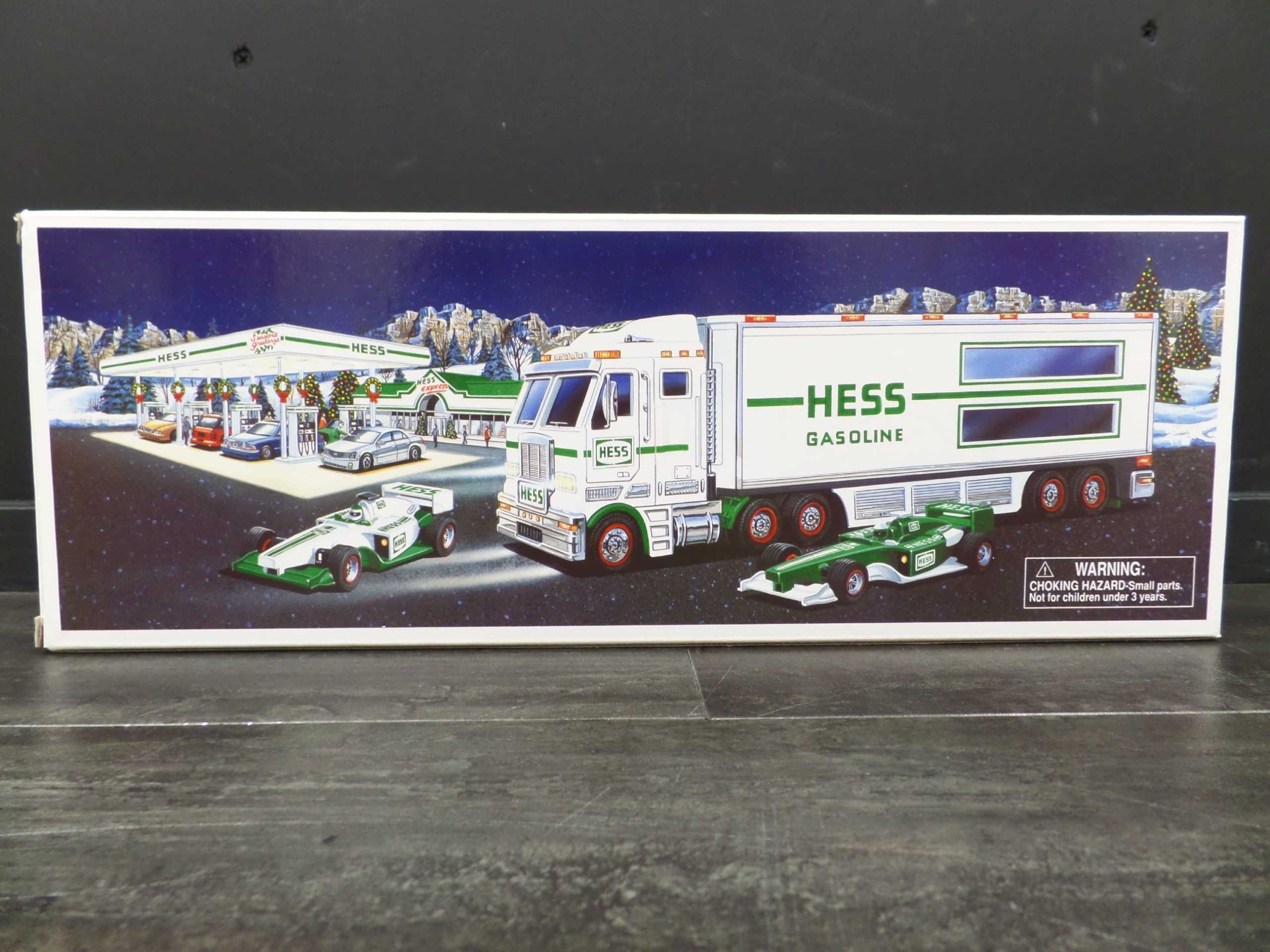 2003 HESS TRUCK & 2 RACERS <br/> Donated by:  WPBS SUPPORTER <br> Valued at: $65