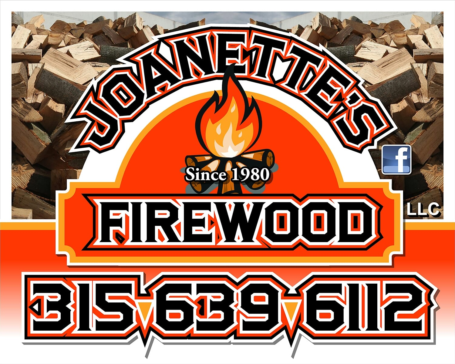 FIREWOOD - 4 FACE CORDS <br/> Donated by: JOANETTE'S FIREWOOD, LLC <br/> Valued at: $272