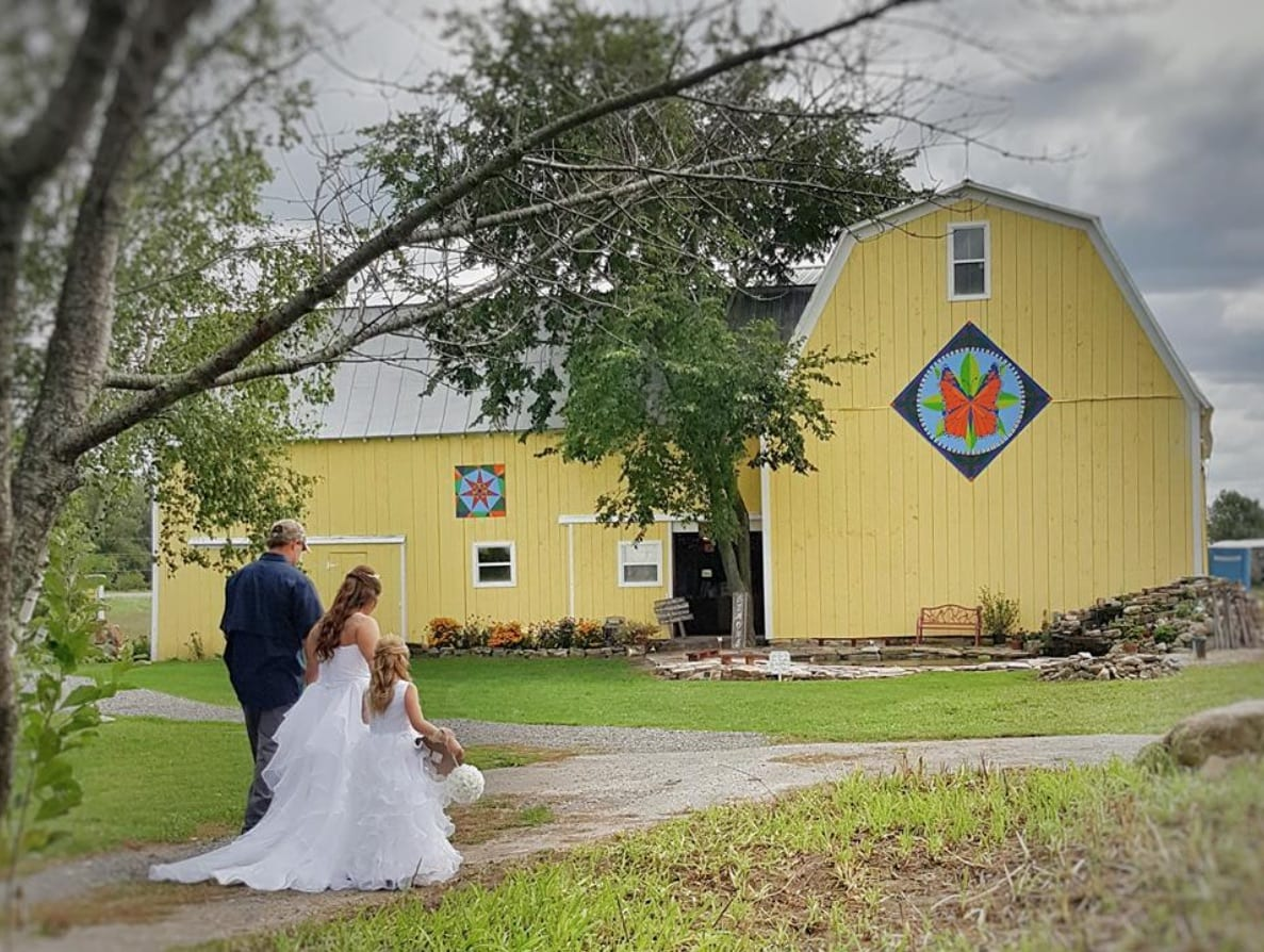 YOUR IDEAL BARN WEDDING <br/> Donated by: THE IVA SMITH MEMORIAL GALLERY OF FINE ART <br/> Valued at: $1,500