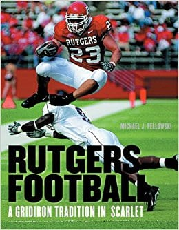 SIGNED RUTGERS FOOTBALL BOOK <br/> Donated by: BRIAN LEONARD FOOTBALL CAMP <br/> Valued at: $50 <br/> Buy It Now: $15