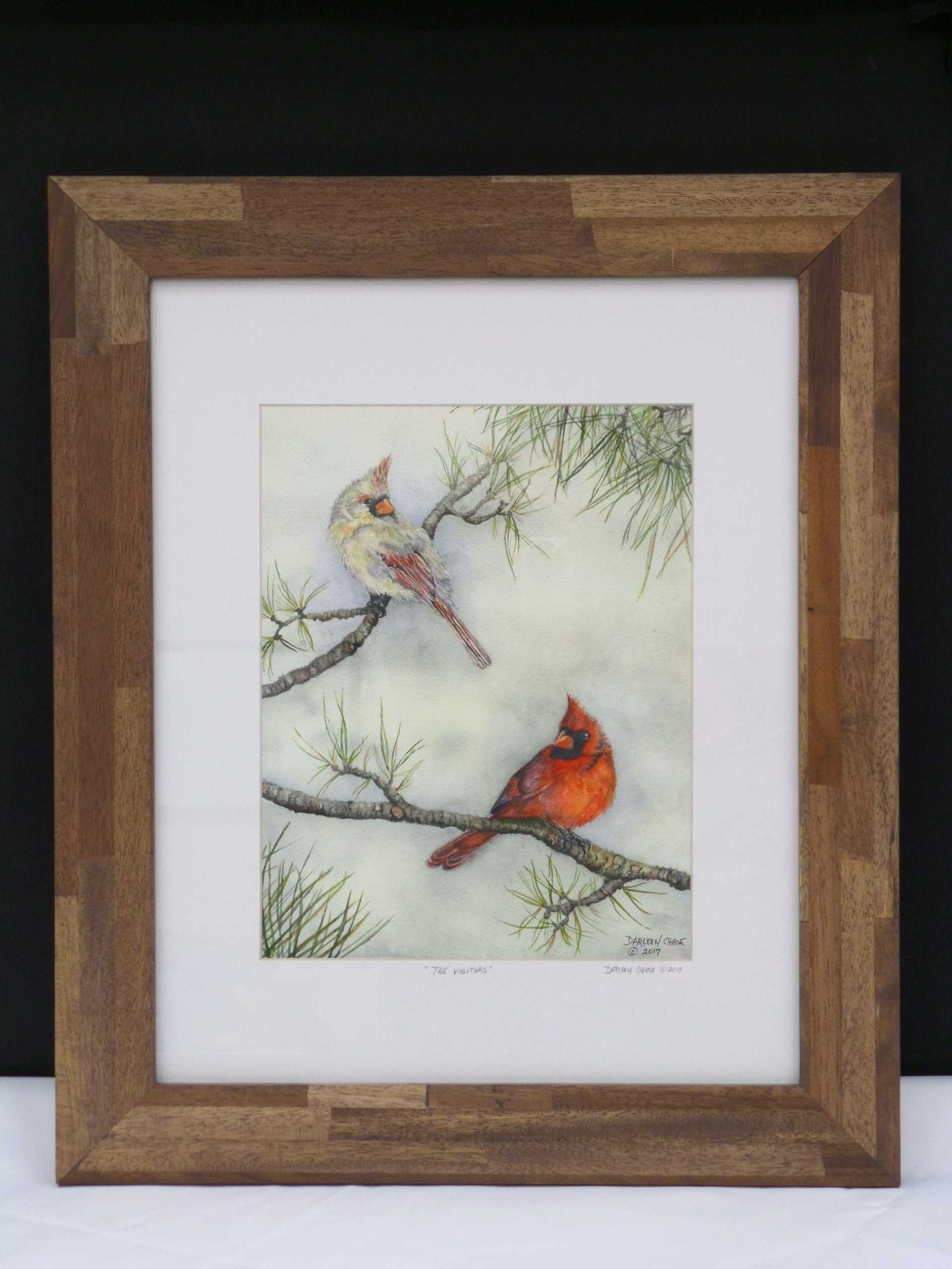 CARDINAL GICLEE PRINT <br/> Donated by: CARNIVAL GARDENS <br/> Valued at: $175
