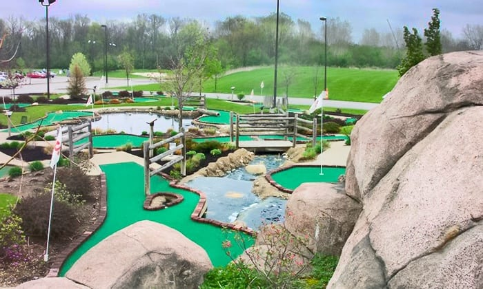 MINI GOLF PASSES FOR 4  Donated by: FOUR SEASONS GOLF & SKI CENTER  Valued at: $26  Buy It Now: $8