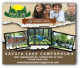 1 MONTH RV CAMPING  Donated by: KAYUTA LAKE CAMPGROUND  Valued at: $1,000  Buy It Now: $200