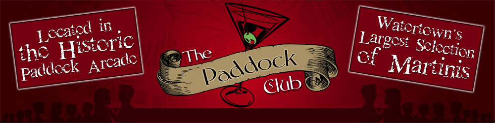 GIFT CERTIFICATE <br/> Donated by: THE PADDOCK CLUB <br/> Valued at: $50