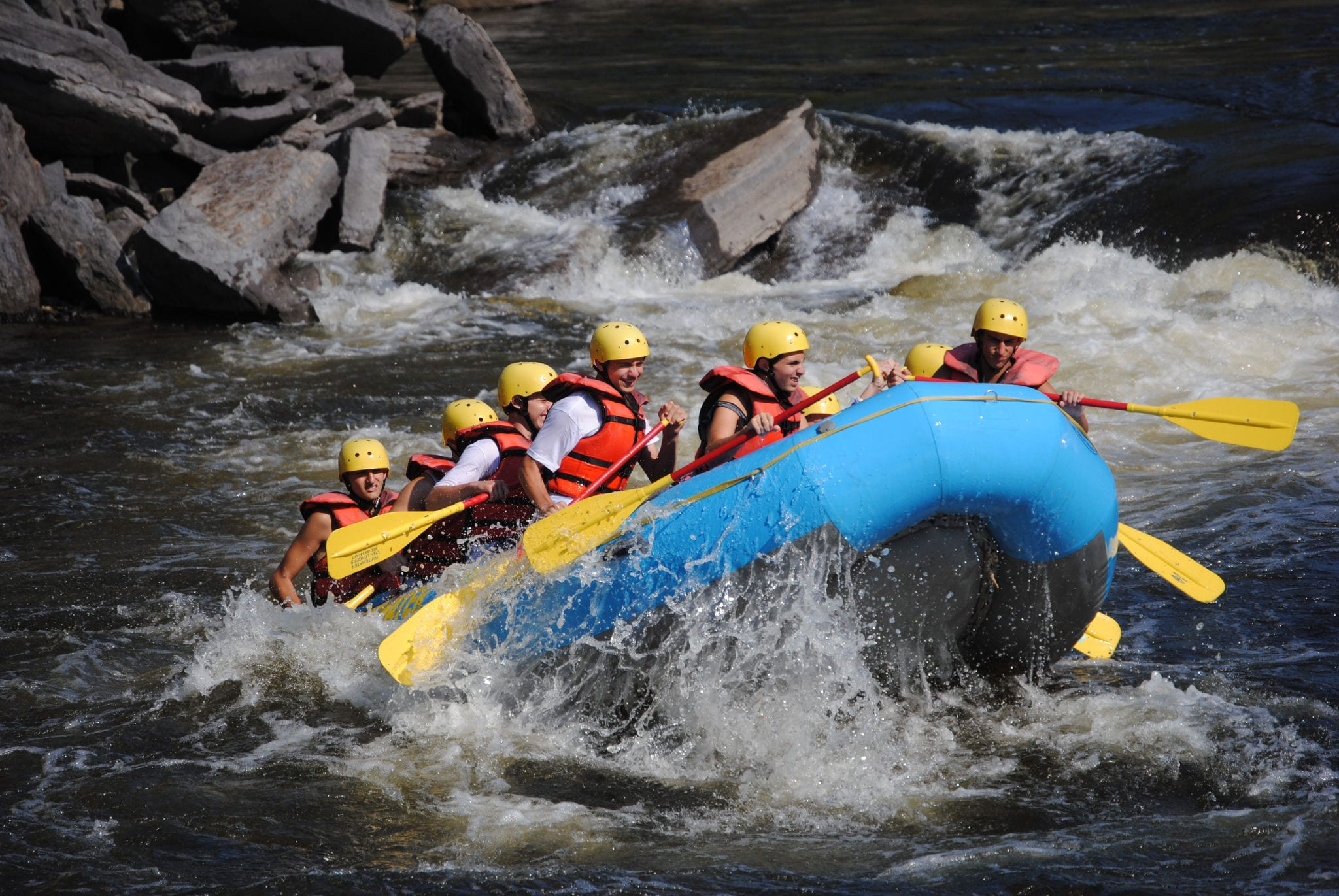 BLACK RIVER RAFTING TRIP FOR 1 <br/> Donated by: WHITEWATER CHALLENGERS <br/> Valued at: $69