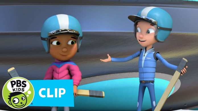 READY JET GO! | Playing on Ice | PBS KIDS