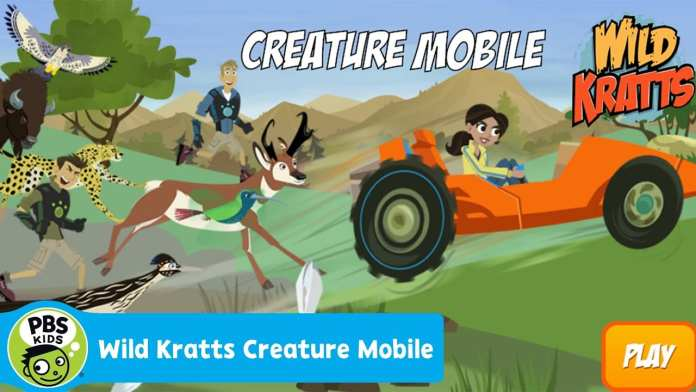 APPS & GAMES | Wild Kratts Creature Mobile | PBS KIDS